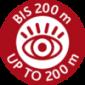 Максимальная видимость 200 м
